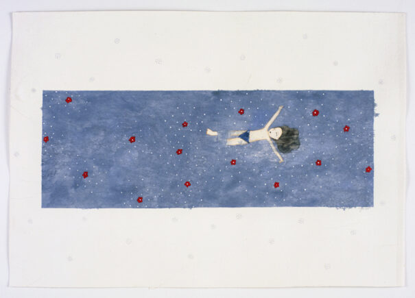 Floating with Flowers, 2007